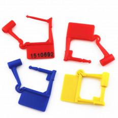 Sigilli di sicurezza a lucchetto con chiusura plastica/metallo
