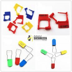 100 Sellos adhesivos anti manipulación con precinto de seguridad – 15x5mm