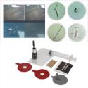 Kit riparazione piccole crepe o ammaccature del vetro parabrezza auto