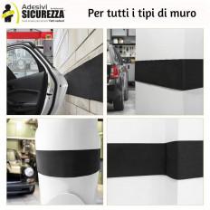 Tiras de parachoques adhesivas para la protección de choque de garaje de coche