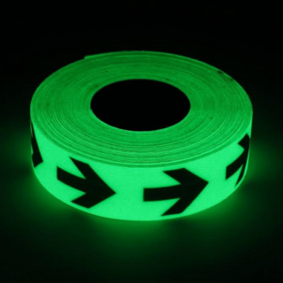 Phosphorescent adhesive tape with arrows Shop Online