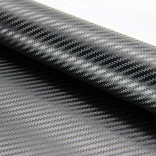 Pellicola adesiva nastro carbonio carbon 3D misura 50mm x 2 MT decorazione auto