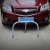 Sbarra dissuasore anti parcheggio sosta auto ribaltabile con lucchetto