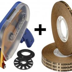 Переносные ленты с обратной лентой (система ATG) с низкой толщиной 0,05 мм + диспенсер ATG900