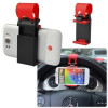 Supporto Regolabile Universale Auto con Aggancio al Volante per Smartphone