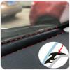 Guarnizione in gomma nera insonorizzante antipolvere per cruscotto parabrezza auto 1.6M