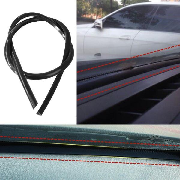 Tool 1.6m Gummidichtung für Auto Armaturenbrett Windschutzscheibe Carbon Look