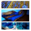 Resina epoxídica transparente bi-componente a efecto agua –