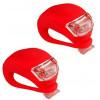 Conjunto de luz de LED en silicona para bicicleta venta en línea