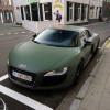 Pellicola adesiva verde militare car wrapping tuning antigraffio no bolle