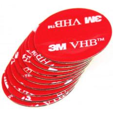 Autocollants carrés double face 3M™5925 VHB à haute performance - 5 pièces