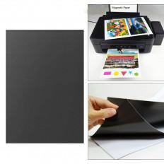 Faixa autocolante magnética branca com imã – 100x5cm