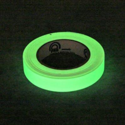 Marqueurs de ruban de film de chaleur que vous brillent dans le noir 25 mm x 2MT