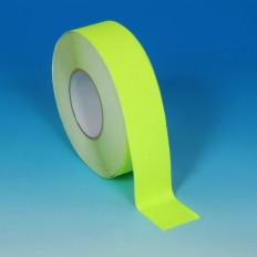 Banda termo colante (com ferro de engomar) amarelo fluorescente - 25mm x 2 MT