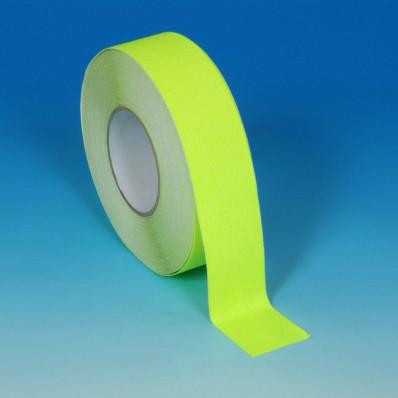 Cinta adhesiva amarilla fosforescente termo soldable (con