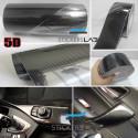 3D Carbon Fibre Vinyl Strips - 5 m x 50 mm
