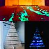 Пигмент порошок добавок флуоресцентный люминесцентный светится
