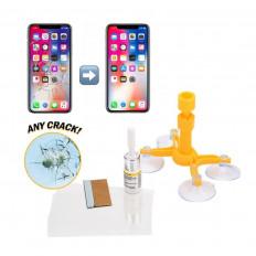Kit riparazione piccole crepe del vetro cellulare in soli 20 minuti