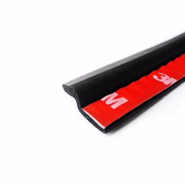 StickersLab GUARNIZIONE IN GOMMA ADESIVA 3M INTERNO PORTIERA AUTO AZ PER ISOLAMENTO TERMICO E ACUSTICO