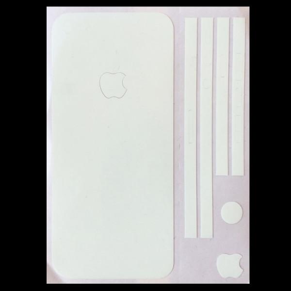 Cover skin adesiva fosforescente per iPhone 5/5S/SE che si illumina al buio