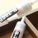 B-7000 da 15 a 110ml Colla Industriale Multiuso resina Altamente performante Semi fluida Trasparente Adesiva