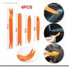 4pcs Kit Utensile di Smontaggio per Rimozione Ricambio Riparazione Auto universale
