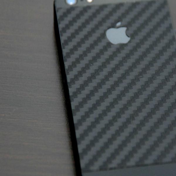 Skin cover adesivo iPhone 5/5S/SE in carbonio nero 3M ™ DI-NOC ™ Shop Online