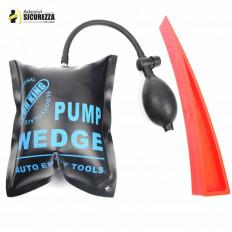 KIT PDR con pompa gonfiabile per sollevamento e cuneo per allargare