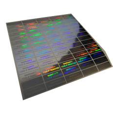 Holographic Adhesive anti-tampering labels - 70 pieces Shop