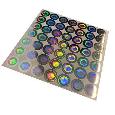 Holographic Adhesive anti-tampering labels - 100 pieces Shop