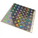 Sellos holográficos anti manipulación con precinto de seguridad – 100 piezas