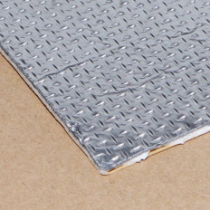 Pannello adesivo termico in tessuto e alluminio riflettente paracalore protezione plastiche e carene