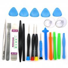 Kit 15 ferramentas de reparo universal para smartphones e telefones celulares com 2 ventosas