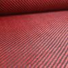 Tessuto ibrido in vera fibra di carbonio e aramide 190 g/m² 3k TWILL rosso