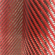 Tissu en vraie fibre de carbone 200 g/m² 3k 2/2 TWILL