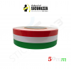 Italian flag vinyl adhesive band for car and motorbike in 5