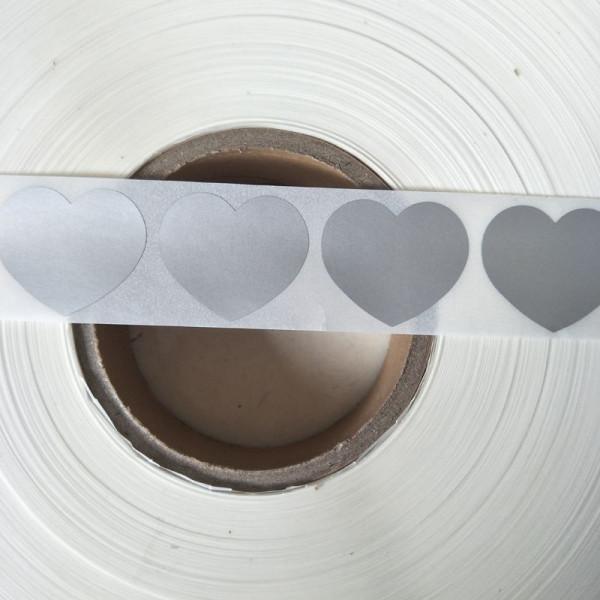 Cuore Oro, 100 Pezzi StickersLab LABEL SCRATCH OFF MODELLO GRATTA E VINCI ADESIVI SPECIALI DA GRAFFIARE