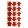 Frecce adesive realizzate con materiale rifrangente scotchlite
