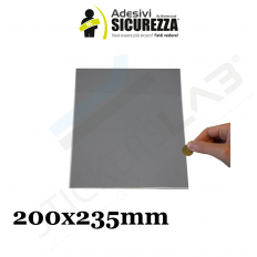 5 fogli A4 Scratch off modello gratta e vinci adesivi 200X235mm