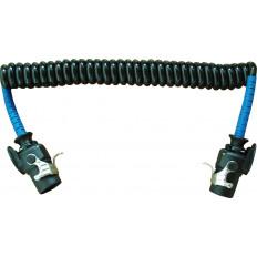 Spirale elettrica TPU 2X15 POLI 24V 3.0 LL Per motrice e rimorchi