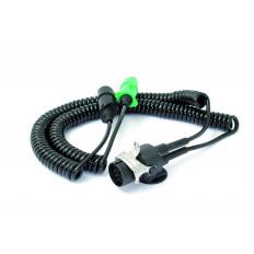 Spirale elettrica adattatore TPU 1X15 POLI 24V 3.5 LL Per motrice e rimorchi