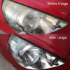 Glass crepe repair kit for headlamps and front rear lights in 3 colors