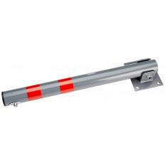 Barra dissuasore anti parcheggio sosta auto pieghevole con lucchetto