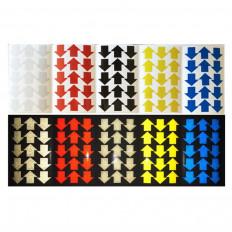 Flechas adhesivas reflectantes de la marca 3M Scotchlite ™ serie 580
