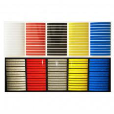 Série de material 580 listras adesivo scotchlite 3M reflexiva