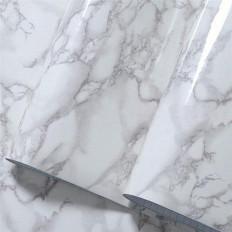 Pellicola di vinile autoadesivo motivo granito effetto marmo grigio