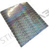 70 Adhesive labels security and safety hologram seals with inscriptions