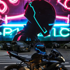 Наклейки Chevron из светоотражающего материала для мотоцикла