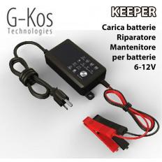 Carica batterie, mantenitore, riparatore, riattivazione batterie piombo 6V 12v da 4Ah a 120Ah