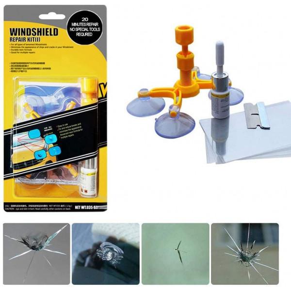Charminer Kit di riparazione per vetri e vetri per auto